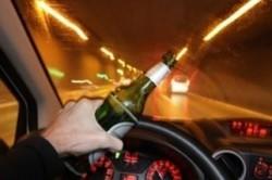Вождение в алкогольном опьянении.