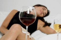 Женский алкоголизм.