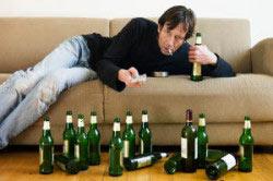 Мужской алкоголизм.