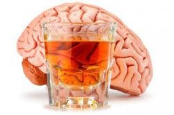 Разрушение мозга алкоголем