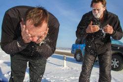 Умывание снегом