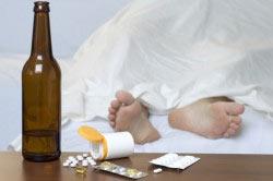 Снятие алкогольного абстинентного синдрома