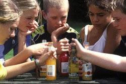 Употребление алкоголя детьми