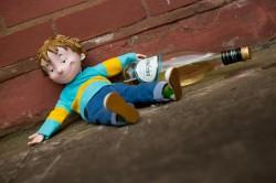 Опасность детского алкоголизма