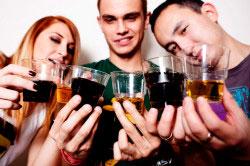 Частота употребления спиртного