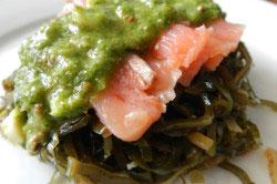 Закуски из морской капусты