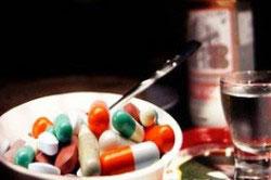 Сочетание водки и лекарств