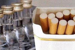Табак плюс алкоголь