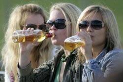 Употребление пива подростками