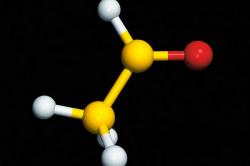 Молекула альдегида