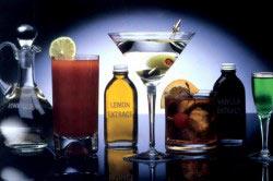 Смешивание различных алкогольных напитков