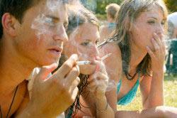 Курение в компании