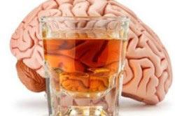 Влияние спиртного на мозг