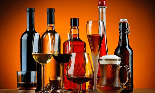 Различные виды алкоголя