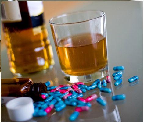 Вред от совместного приема алкогольных напитков и Карбамазепина