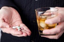 Совместимость крепкого алкоголя и ибупрофена