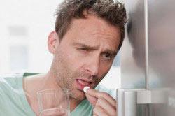 Лечение похмелья препаратом ЛИВ 52