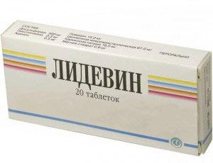 "Препарат ""Лидевин"""