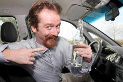 Пьяный водитель - частый виновник аварий