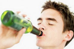Употребление пива