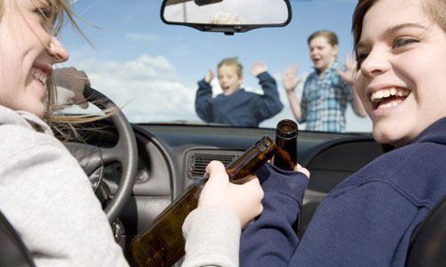 Управление автомобилем в состоянии опьянения