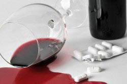 Несовместимость алкоголя и лекарственного средства