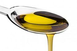 Столовая ложка растительного масла