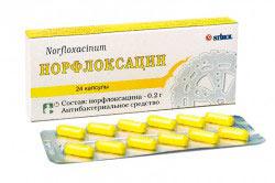 "Лекарственный препарат ""Норфлоксацин"""