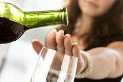 Отказ от алкоголя при диабете