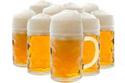 Пиво способствует набору веса
