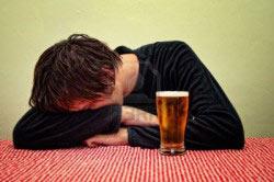 Потеря самоконтроля при алкоголизме