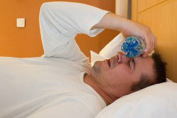 Тяжесть в голове от приема лекарства со спиртным