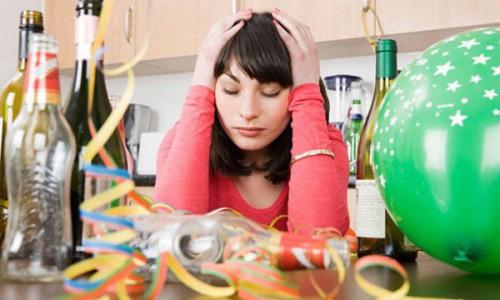 Похмелье после употребления алкоголя