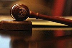 Судебное решение о снятии или постановке на учет