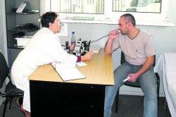Обследование врачами сотрудника на выявление алкогольного опьянения