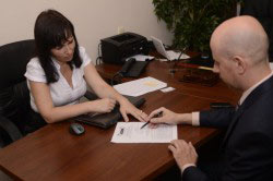 Подписание  у начальства приказа об отстранении нарушителя от выполнения его трудовых обязанностей