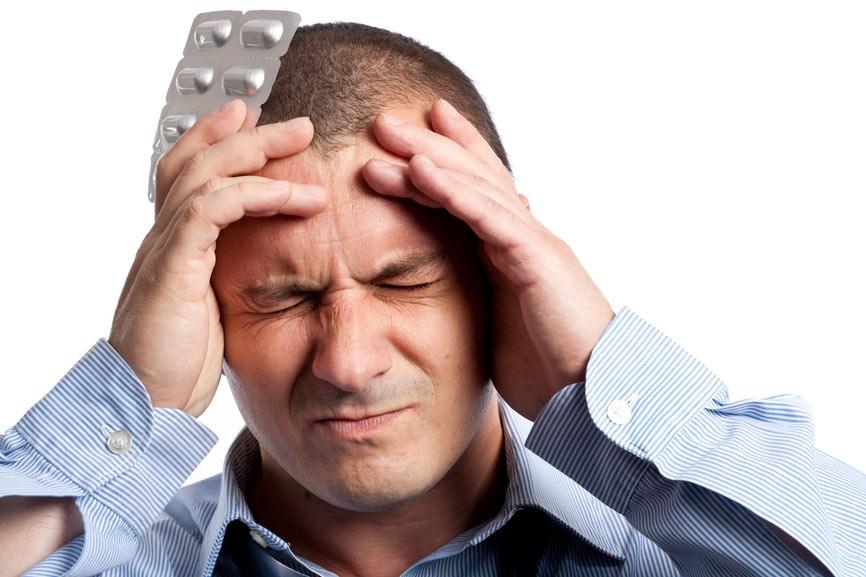Головные боли при приеме препарата Феварин