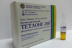Препарат Тетлонг 250