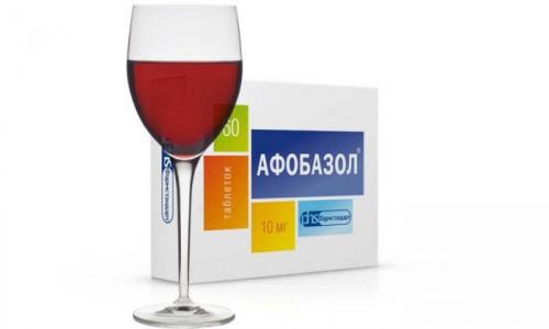"""Взаимодействие """"Афобазола"""" c алкоголем"""