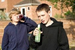 Употребление алкоголя в раннем возрасте