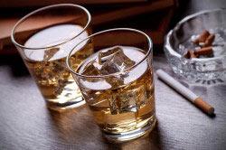 Воздействие алкогольных напитков на мозг