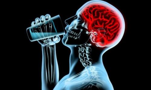 Мозг пьющего человека