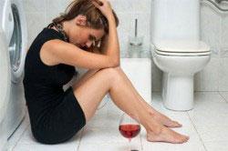 Как остановить рвоту при алкогольном отравлении: первая помощь