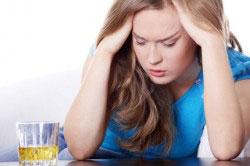 Развитие похмельного синдрома
