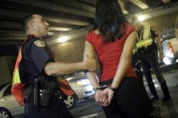 Арест нарушителей общественной нравственности