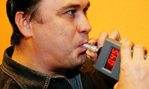 Проверка на алкогольное опьянение