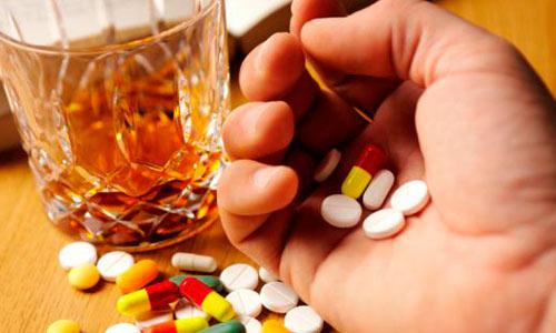 Принятие новопассита с алкоголем