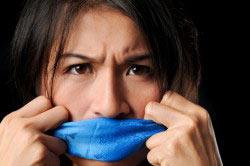 Стойкий неприятный запах перегара