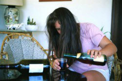 Средняя степень алкогольного опьянения