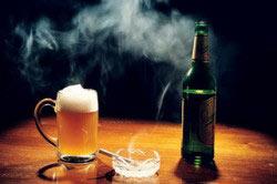 Вред от курения и алкоголя